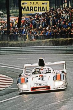 – Jacky Ickx and Reinhold Joest @PorscheRaces Type 908. Le Mans 1980. –