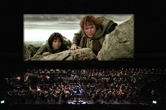 In 2015, New York City will showcase the entire Lord of the Rings trilogy (yes, all three films) with a 250 piece orchestra accompaniment.