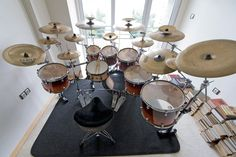 Tell me if you've heard this one:  Two drums and a cymbal fall off a cliff..........  ........what, too soon?