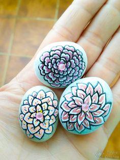 Piedras pintadas para día de la madre