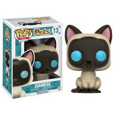Pop! Pets Siamese Pop! Vinyl Figure - Funko - Animals - Pop! Vinyl Figures at Entertainment Earth