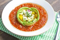 How to make Gazpacho (and make it pretty) freezer recipe