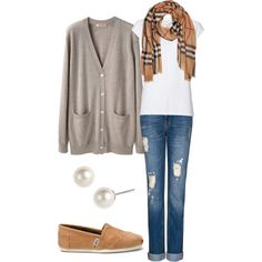 """Simple and comfy everyday winter outfit"" by natihasi on Polyvore"