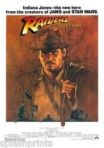 Indiana Jones. Another great childhood memory.