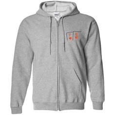 Heavyweight Zip Up Hoodie (7h 6h on front)