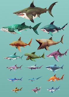 ArtStation - Hungry Shark World - Playable Character Concepts, Johanna Cranston