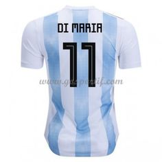 846268186 adidas Angel Di Maria Argentina Authentic Home Jersey 2018