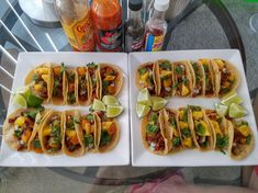 [Homemade] Tacos Al Pastor #recipes #food #cooking #delicious #foodie #foodrecipes #cook #recipe #health