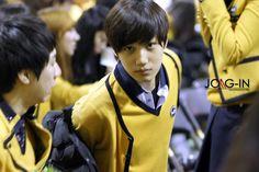 Kai at seoul school of performing arts