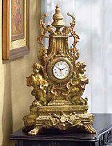 Gorgeous bronze rococo clock