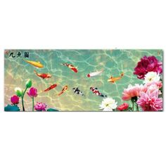Nine Koi Fish 3D Stamped Cross Stitch Kit - 58.3inch By 24.8inch - http://www.yourfishguide.com/nine-koi-fish-3d-stamped-cross-stitch-kit-58-3inch-by-24-8inch/?utm_source=PN&utm_medium=http%3A%2F%2Fwww.pinterest.com%2Fpin%2F368450813235896433&utm_campaign=SNAP%2Bfrom%2BKoi+Fish+Facts