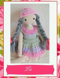 Miniature Mink Bunny Crochet Mink Bunny von chepidolls auf Etsy