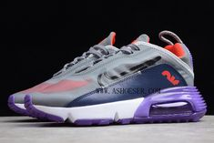Products Descriptions:  2020 Nike Air Max 2090 Purple Grey-Red For Sale  Tags: Nike Air Max 2090, Air Max 2090, Air Max 2090 Colorful Model: NIKEAIRMAX2090-NAM209-001 5 Units in Stock Manufactured by: NIKEAIRMAX2090 Air Max 90, Nike Air Max, Air Max Sneakers, Sneakers Nike, Shoe Deals, Purple Grey, Air Jordans, Red, Shoes