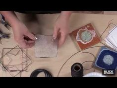 Wire Quilt - Lesson Plan - Blick Art Materials - YouTube
