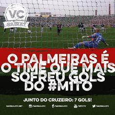 #04 - 25.03.2015: O Palmeiras é o time que mais sofreu gols do #M1TO