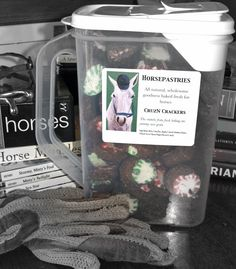 CruzN Crackers Peppermint Large | Horsepastries.com Healthy treats for horses and dogs!!!