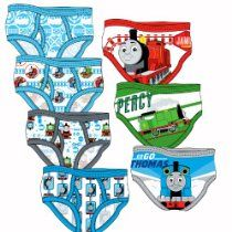 "Thomas & Friends ""Thomas, James & Percy"" Set of 7 Briefs - Toddler"