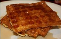 High protein waffle -