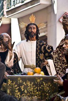 Santisimo Cristo de la Humildad y Paciencia Hermandad de La Cena Iglesia de los Terceros