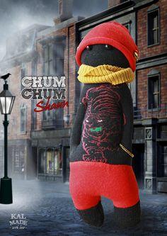 Sock Doll CHUM CHUM -- Shaun