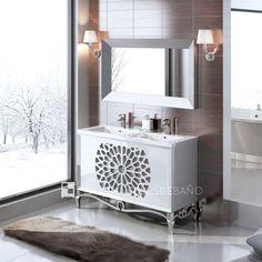 Mueble De Baño Klassic 120cm 2P Push Acabado 70/57 + Lavabo Ken 120 Con