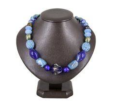 Necklase 'Sea' Beaded Necklace, Sea, Jewellery, Fashion, Beaded Collar, Moda, Jewels, Pearl Necklace, Fashion Styles