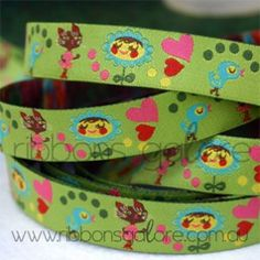 helen's friends ribbon (15mm wide) [per metre] - $3.80 : Ribbons Galore, your online store for the best ribbons