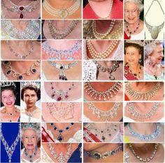 Queen Elizabeth II necklaces