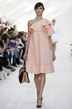 This dress is so pretty. loving the Chloe S/S 2013 collection. #PFW