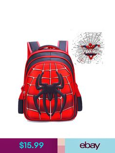e7c169c7d4 Boys  Accessories Spider-Man Homecoming School Bag Backpack Bag For Boys  Kids Children Gift. TheTristanZoneYT · Backpacks
