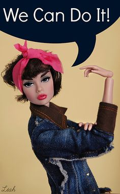 fashion doll || We Can Do It! | Flickr - Photo Sharing!