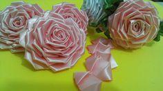 Flor de tecido - TUTORIAL da ROSA LINDAAA...todos os detalhes, montagem ...