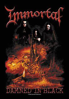 51330 Immortal Damned in Black Fabric Poster – Preegle.com