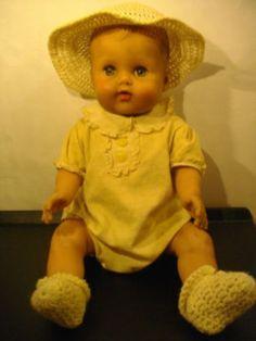 "Vintage 18"" The Sun Rubber Company sleepy-eye baby doll (09/23/2011)"