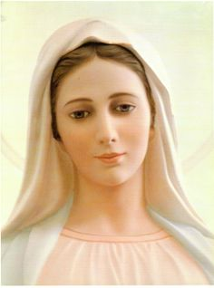 Mary full of Grace Our Lady Of Medjugorje, Mary's Song, Mary And Jesus, Blessed Virgin Mary, St Joseph, Blessed Mother, Mother Mary, Santa Maria, Madonna