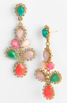 Kate Spade New York 'balloon Bouquet' Cluster Drop Earrings