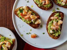 Make yourself an easy party appetizer with these 23 ideas for bruschetta combinations. They can even cunt as dinner if you serve them on a longer roll.