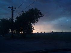 stormy evening in AZ