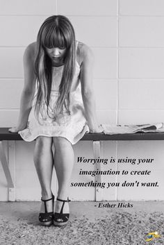 """""""Worrying is using your imagination to create something you don't want."""" - Esther Hicks http://theshiftnetwork.com/?utm_source=pinterest&utm_medium=social&utm_campaign=quote"""