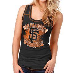 San Francisco Giants Women's Glitter Jersey Tank by 5th & Ocean - MLB.com Shop