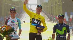 Le podium - Étape 21 (Chantilly / Paris Champs-Élysées) - Tour de France...