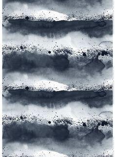 Luovi linen fabric by Marimekko
