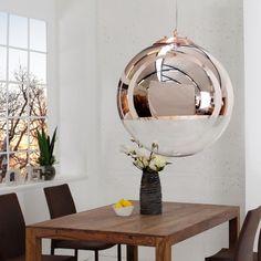 Edle Design Hängelampe GLOBE 30cm Glas Kupfer Kugelleuchte Hängeleuchte  Lampen In Möbel U0026 Wohnen, Beleuchtung, Lampen | EBay!