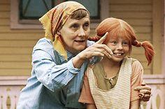 """Astrid Lindgren and """"Pippi"""" (Inger Nilsson)"""