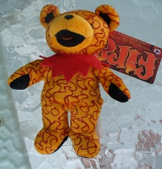 Liquid Blue Grateful Dead Bear Fire  $10.00 via jorjan