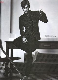 [Сканы] T.O.P для журнала «Harper's Bazaar» (сентябрь 2014) | BIGBANG|빅뱅|Russian VIPs