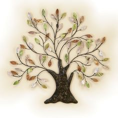 family tree wall decorations | ... wall sculpture set set of three sale price $ 115 00 serenity wall