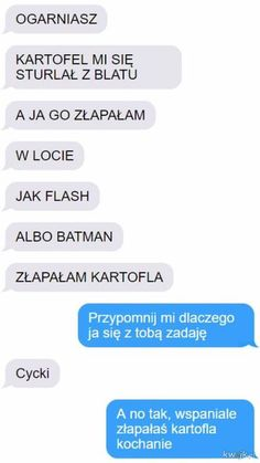 Funny Sms, Funny Text Messages, Wtf Funny, Funny Cute, Funny Texts, Hilarious, Love Memes, Best Memes, Polish Memes