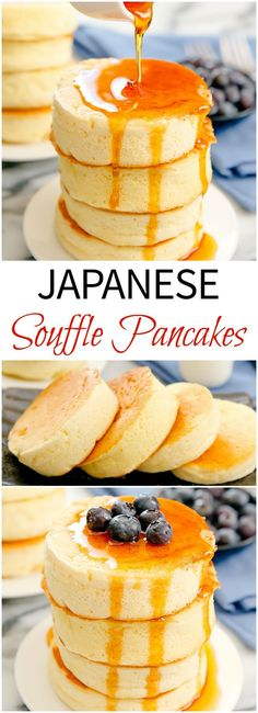 ALL SORTS OF HEALTHY: Japanese Souffle Pancakes - Kirbie's Cravings