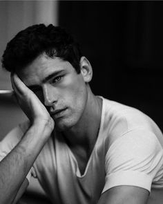 September Rains With Sean O'Pry by Kat Irlin - Fashionably Male Sean O'pry, Boy Models, Male Models, Black Dagger Brotherhood, Men Photoshoot, Photography Poses For Men, Foto Pose, Character Aesthetic, Portraits